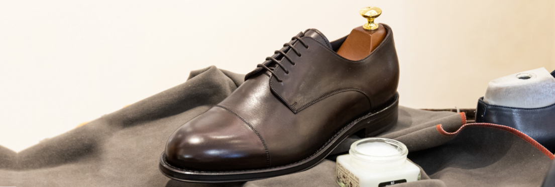 Dark-brown-derby-shoes