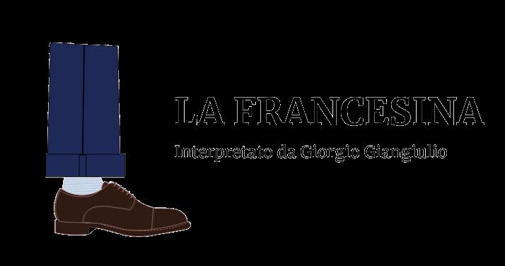 Illustrazione di una gamba da uomo che indossa una francesina testa di moro  by Fragiacomo